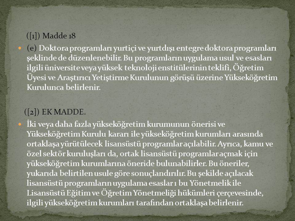 ([1]) Madde 18